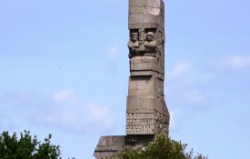 Het monument Westerplatte