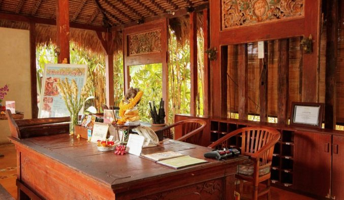 Sapulidi Resort Spa & Gallery - Receptie