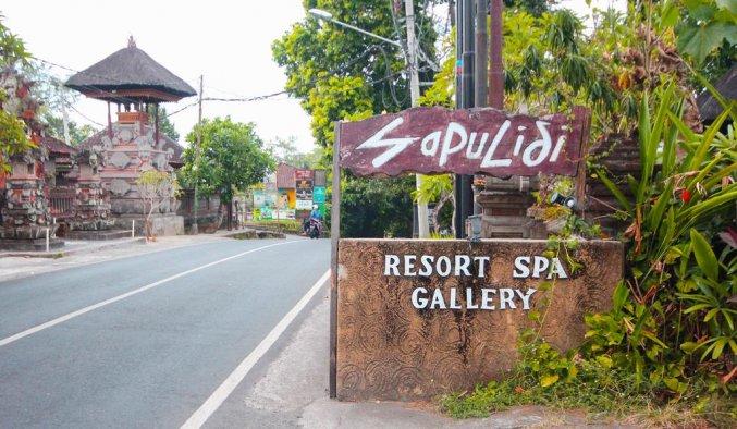Sapulidi Resort Spa & Gallery - Voorkant