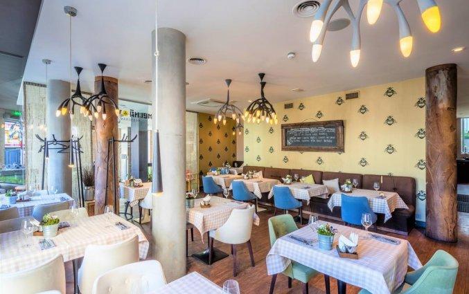Restaurant van Wellton Centrum Hotel en Spa in Riga