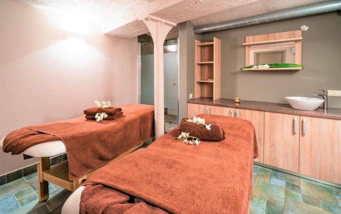 Massageruimte van Wellton Centrum Hotel en Spa in Riga