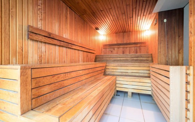 Sauna van Wellton Centrum Hotel en Spa in Riga