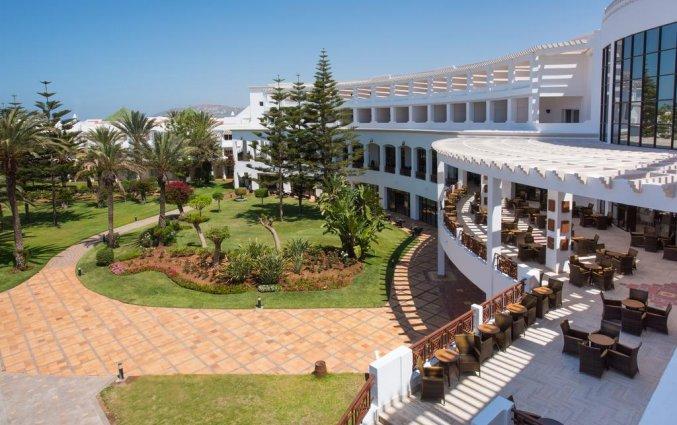 Uitzicht van hotel Iberostar Founty Beach in Agadir