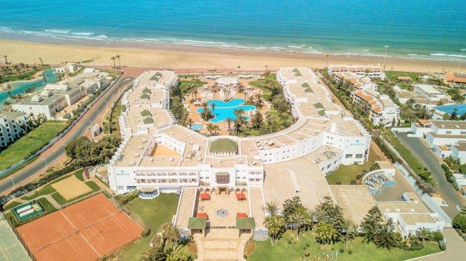 Gebouw van hotel Iberostar Founty Beach in Agadir