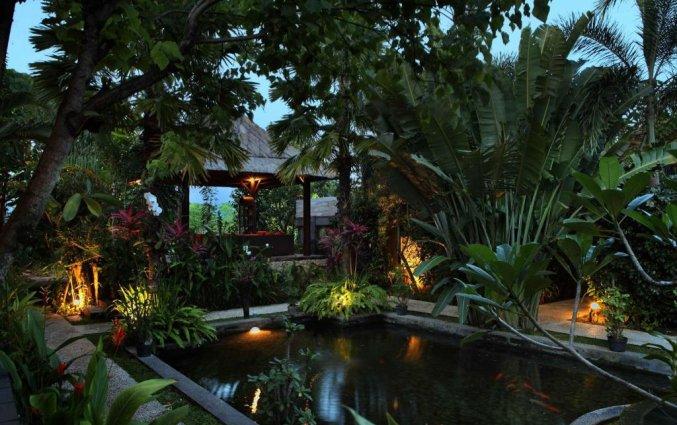 Tuin van Tonys Villas & Resort op Bali