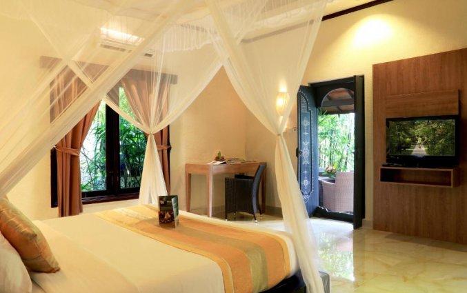 Slaapkamer van Tonys Villas & Resort op Bali
