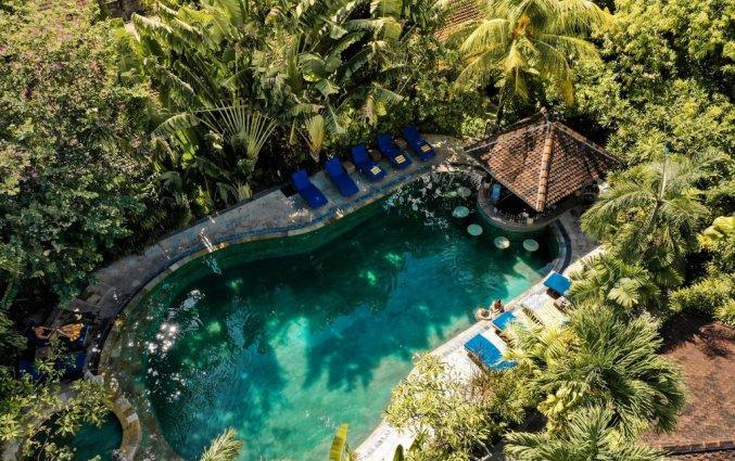 Zwembad van Tonys Villas & Resort op Bali