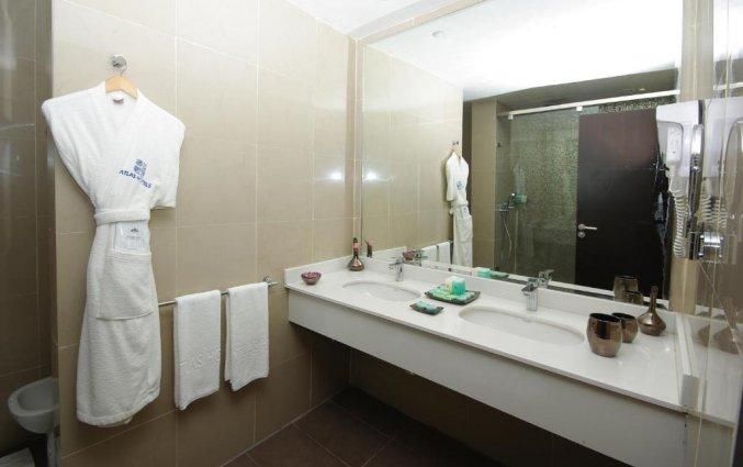 Badkamer van hotel Atlas Amadil Beach Aqua Sun in Agadir