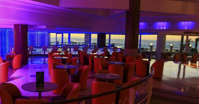 Lounge van hotel Atlas Amadil Beach Aqua Sun in Agadir