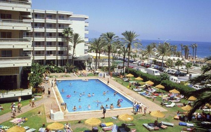 Zwembad van appartementen Bajondillo in Fuerteventura