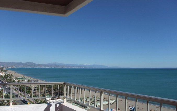 Uitzicht van appartementen Bajondillo in Fuerteventura