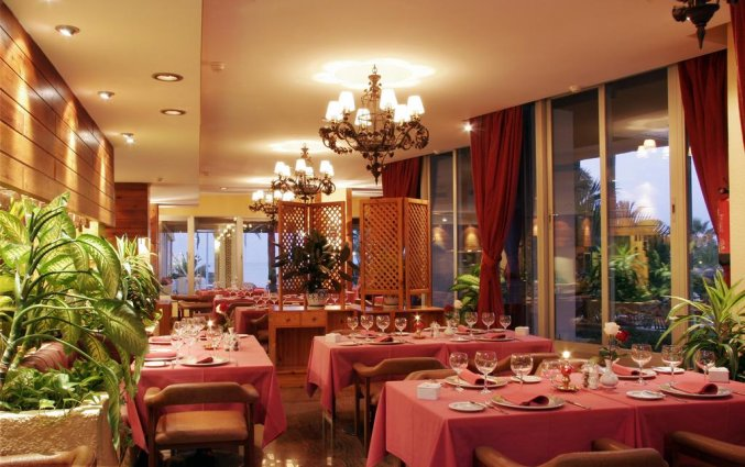 Restaurant van appartementen Bajondillo in Fuerteventura