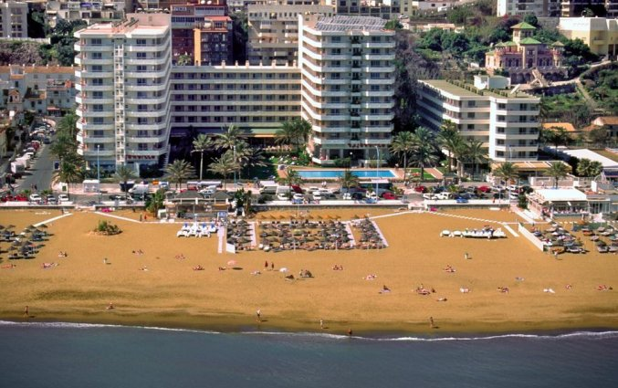 Gebouw van appartementen Bajondillo in Fuerteventura
