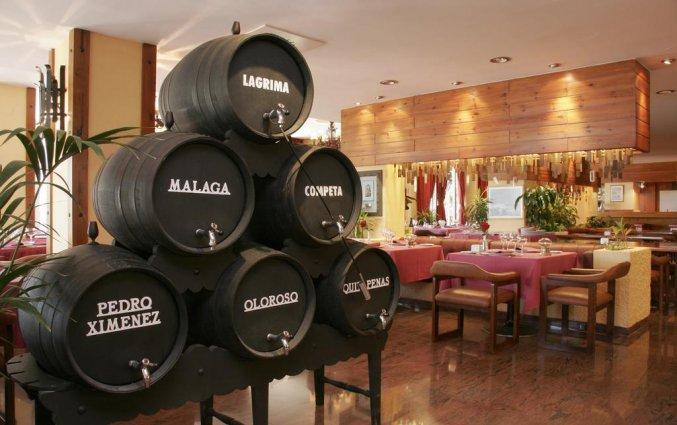 Bar van appartementen Bajondillo in Fuerteventura