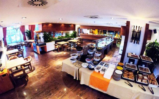 Buffet van appartementen Bajondillo in Fuerteventura