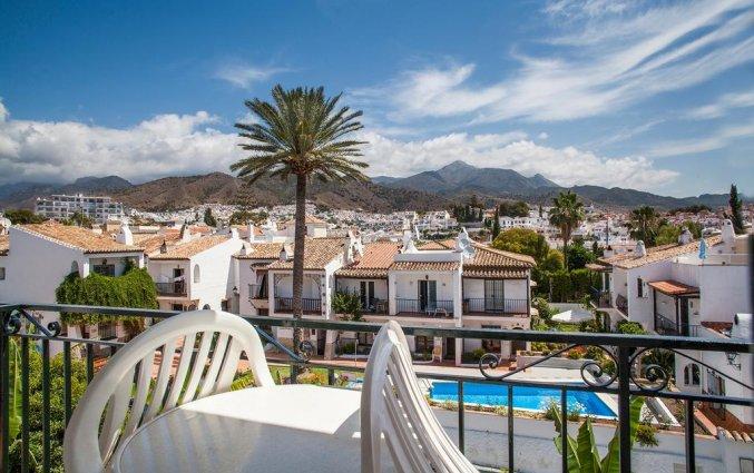 Uitzicht van hotel Villa Flamenca in Nerja