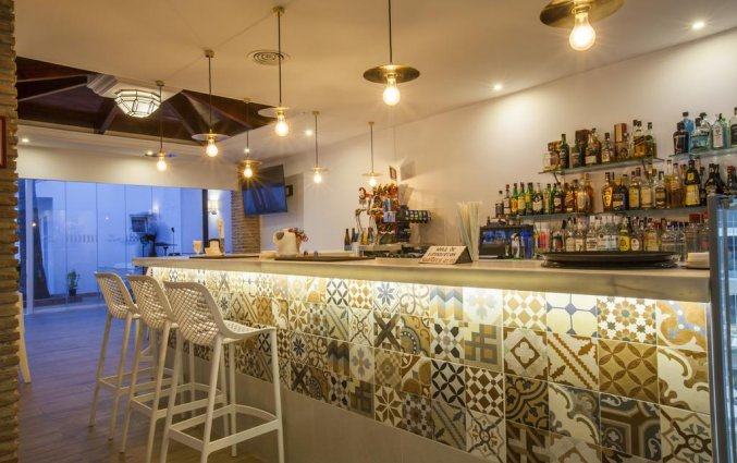 Bar van hotel Villa Flamenca in Nerja