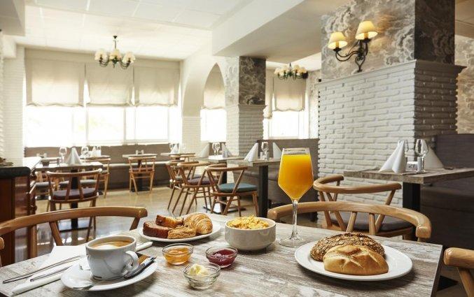 Ontbijt van hotel Villa Flamenca in Nerja
