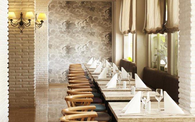 Eetzaal van hotel Villa Flamenca in Nerja