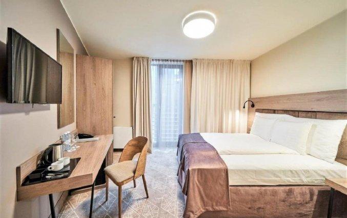 Tweepersoonskamer van Hotel Wellton Riverside Spa in Riga
