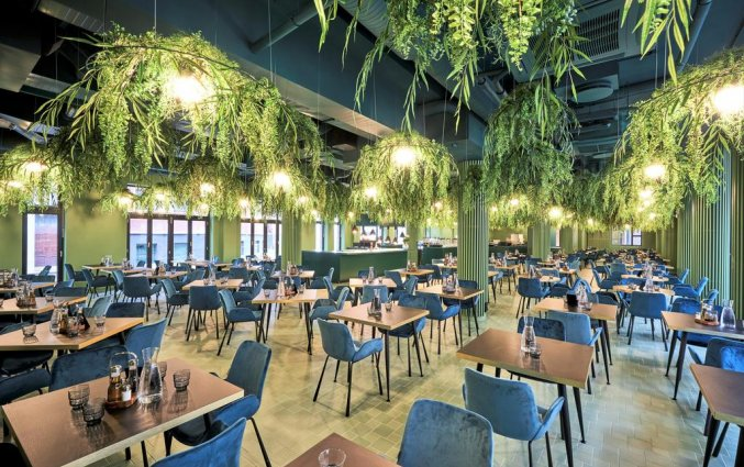Restaurant van Hotel Wellton Riverside Spa in Riga