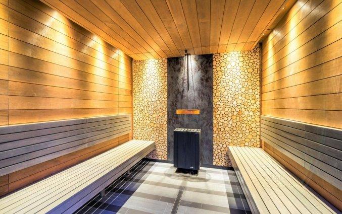 Sauna van Hotel Wellton Riverside Spa in Riga