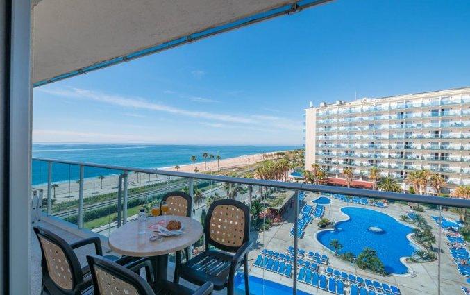 Uitzicht van hotel Golden Taurus Aquapark in Costa Brava