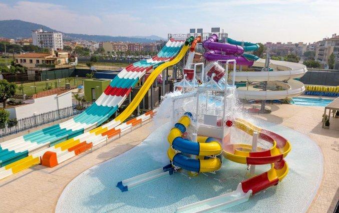 Waterpark van hotel Golden Taurus Aquapark in Costa Brava