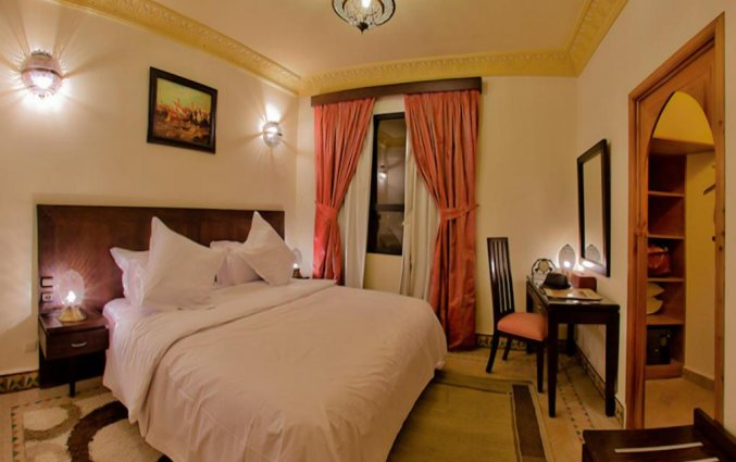 Tweepersoonskamer van Hotel Lawrence D'arabie in Marrakech