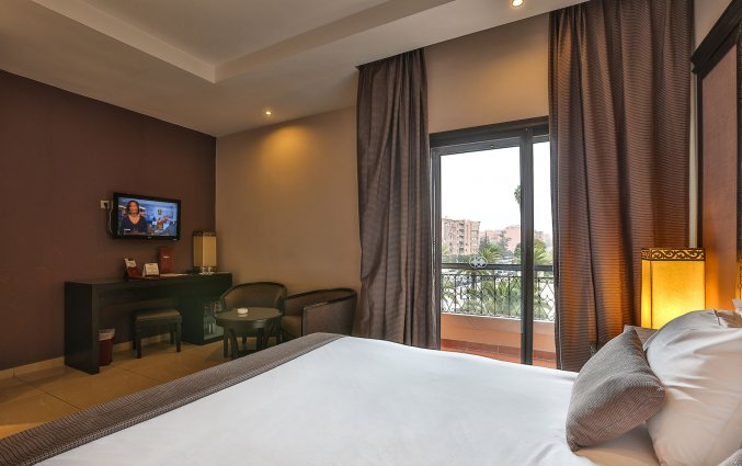 Tweepersoonskamer van Hotel Opera Plaza in Marrakech