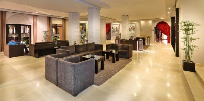 Lounge van Hotel Opera Plaza in Marrakech