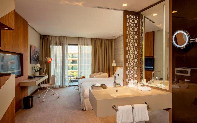 Slaapkamer van hotel Radisson Blu Carre Eden in Marrakech