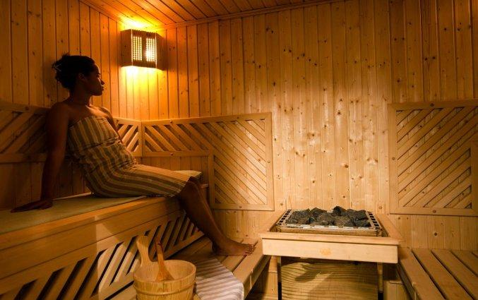 Sauna van Hotel Tigmiza Suites en Pavillions in Marrakech