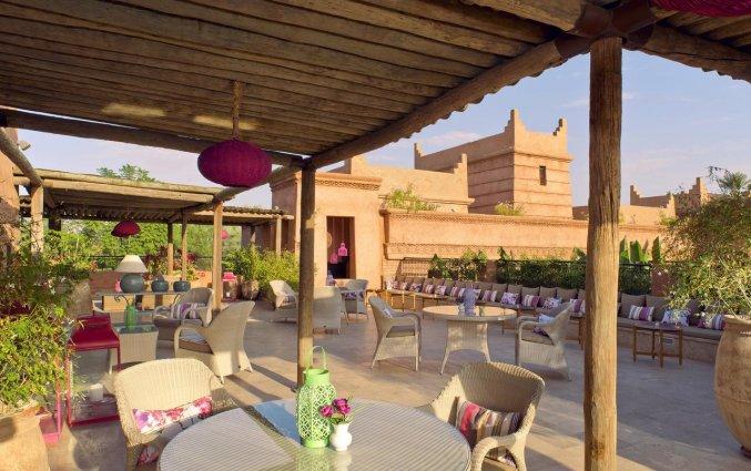 Terras van Hotel Tigmiza Suites en Pavillions in Marrakech