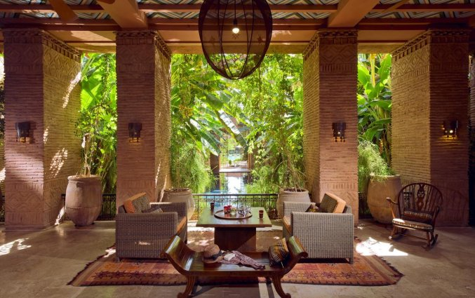 Lounge van Hotel Tigmiza Suites en Pavillions in Marrakech