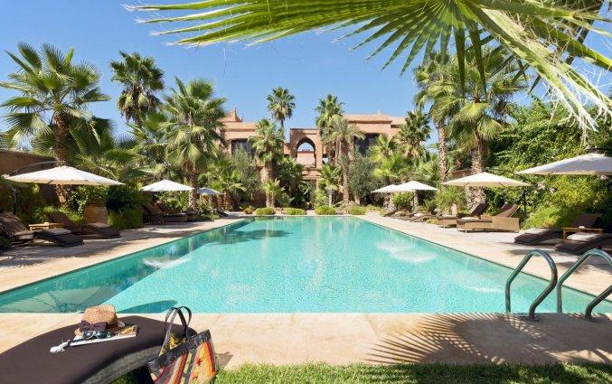 Zwembad van Hotel Tigmiza Suites en Pavillions in Marrakech