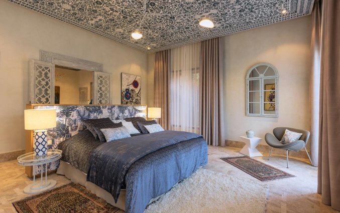 Tweepersoonskamer van Hotel Tigmiza Suites en Pavillions in Marrakech