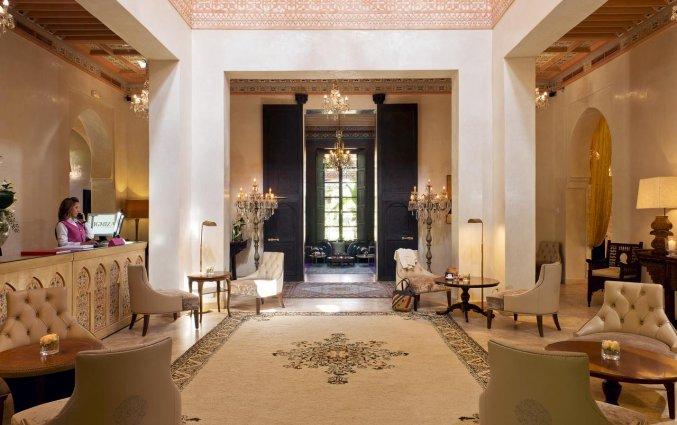 Receptie van Hotel Tigmiza Suites en Pavillions in Marrakech