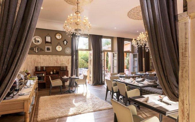 Ontbijtzaal van Hotel Tigmiza Suites en Pavillions in Marrakech