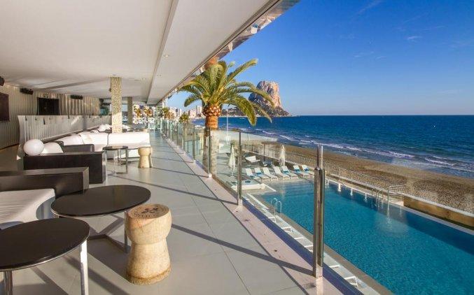 Zwembad van Hotel Gran Hotel Sol y Mar in Alicante