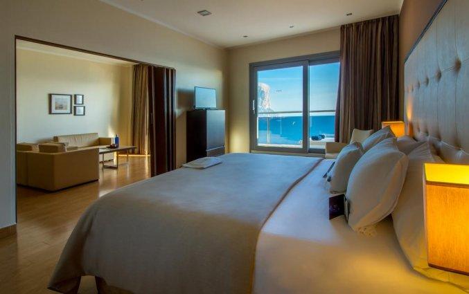 Slaapkamer van hotel Gran Hotel Sol y Mar in Alicante