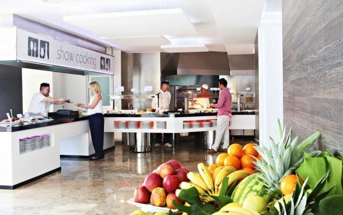 Buffet van hotel Resort Flamingo Beachin Alicante