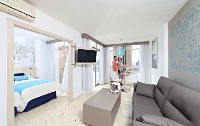 Slaapkamer van hotel Resort Flamingo Beachin Alicante