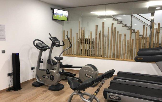 Fitnessruimte van hotel Resort Flamingo Beachin Alicante