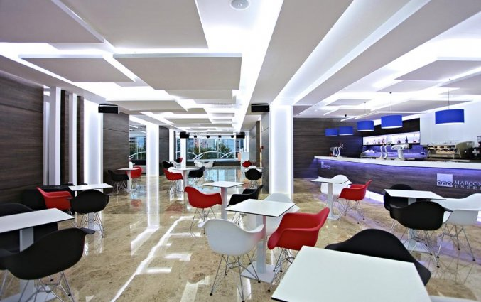 Lounge van hotel Resort Flamingo Beachin Alicante