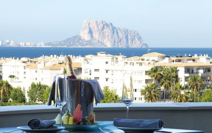 Uitzicht van hotel Albir Playa inAlicante