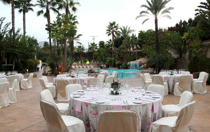 Restaurant van hotel Albir Playa inAlicante