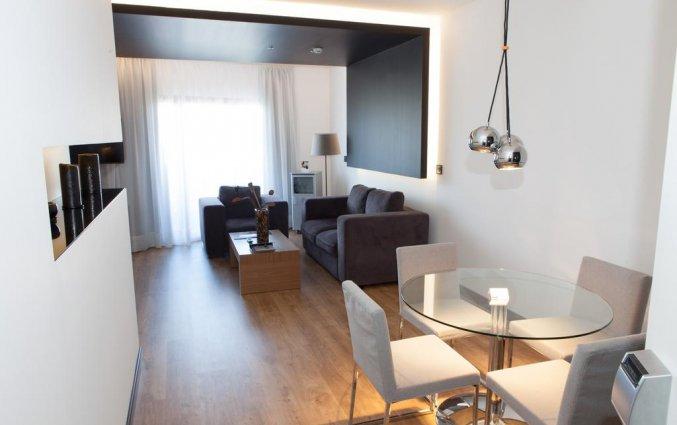Woonkamer van hotel Albir Playa inAlicante