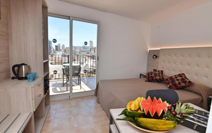 Slaapkamer van hotel Queens by Mc - Only Adults in Alicante