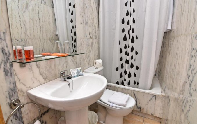 Badkamer van hotel Queens by Mc - Only Adults in Alicante